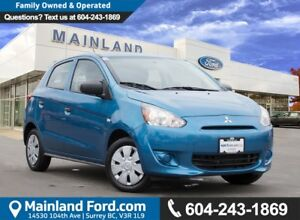 2015 Mitsubishi Mirage ES NO ACCIDENTS, LOW KMS