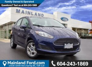 2016 Ford Fiesta SE LOW KMS, LOCAL