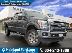 2015 Ford F-350 Lariat ACCIDENT FREE, BC TRUCK, LOW KMS