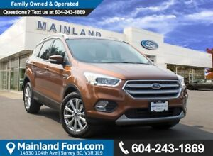 2017 Ford Escape Titanium LOW KMS, NO ACCIDENTS, LOCAL