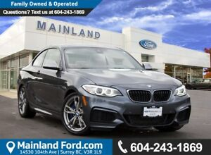 2014 BMW M235i NO ACCIDENTS, LOCAL BC