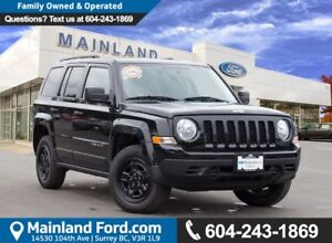 2016 Jeep Patriot Sport/North LOW KMS, NO ACCIDENTS, LOCAL