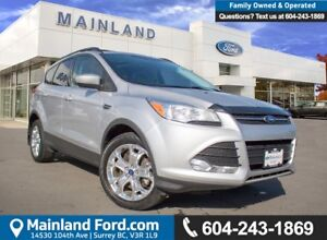 2013 Ford Escape SE LOW KMS, BC LOCAL, ACCIDENT FREE