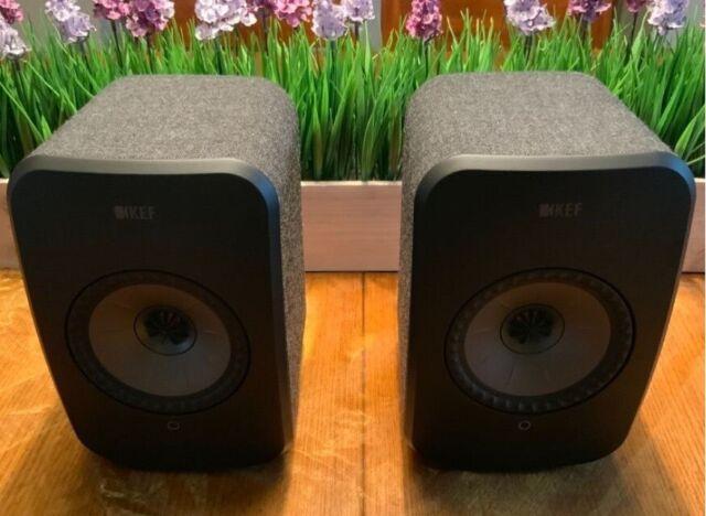 Kef LSX Active Speakers (Black) | in Ellon, Aberdeenshire | Gumtree