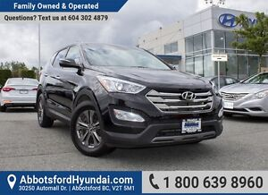2013 Hyundai Santa Fe Sport 2.4 Luxury ALL WHEEL DRIVE