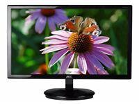 """AOC E960SRDA 19"""" Square LED 1280x1024 VGA DVI Speakers Monitor"""