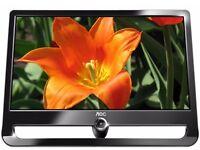 AOC F22+ 22 inch Full HD Widescreen LCD Monitor - Black/Grey (1920 x 1080, 300 cd/m2)
