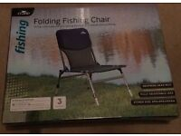 Brand new fishing chair in box