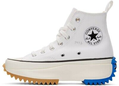 NEW JW ANDERSON x Converse Run Star Hike sneakers white Men's Size 10