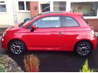 *Reduced* Fiat 500 1.2 Sport