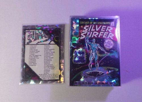 1992 MARVEL COMICS COMPLETE SET 1-72 SILVER SURFER CARDS PRISM Sleeved NM!