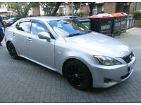 Lexus IS250 automatic with DVD headrest