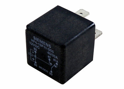 Siemens 12vdc 4030a Spdt Automotive Style Power Plug-in Relay Vf4-15f11-s05