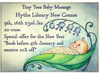 Tiny Toes Baby Massage
