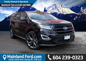 2016 Ford Edge Sport LOCAL, NO ACCIDENTS, LOW KM'S