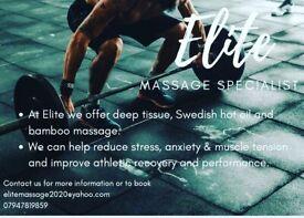 Elite massage specialist offering the best professional massage in Essex