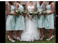 4 x bridesmaid dresses