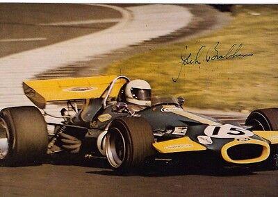 Jack Brabham , schönes Reprofoto,original unterschrieben gebraucht kaufen  Dissen