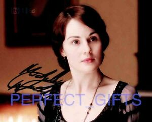 MICHELLE-DOCKERY-LADY-MARY-DOWNTON-ABBEY-SIGNED-10X8-REPRO-PP-PHOTO-PRINT