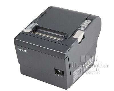 Epson Tm-t88ii Thermal Receipt Printer Micros Idn Interface Dark Grey