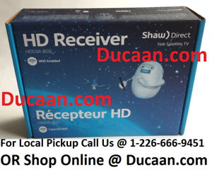 NEW Shaw Direct DSR800 HD High Def Satellite Receiver ☆LATEST☆