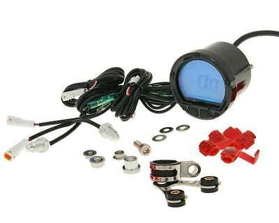 TACHOMETER  THERMOMETER KOSO D55 DL 02R LCD DISPLAY MAX 250  C MA