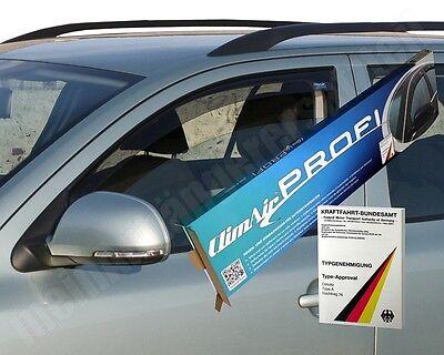 ClimAir Windabweiser Regenabweiser Mercedes Benz E-Klasse 212 - schwarz 3660D