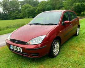 Ford focus 1.6 Zetec 2001 New 12 M MOT £695