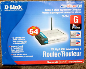 D-Link DI-524 AirPlus G High Speed Wireless Router