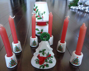 Christmas Mini Candles, Bell, Votive Candle