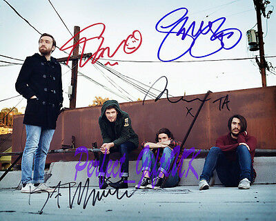 TWIN ATLANTIC BAND SIGNED AUTOGRAPHED 10X8 INCH REPRO PHOTO PRINT
