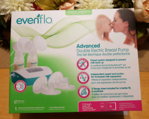 Evenflo double electric breast pump- practically brand new