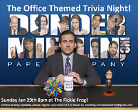 """The Office"" themed Pub Quiz at the Fickle Frog"