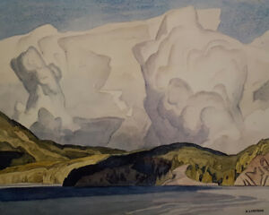 "A.J. Casson ""Lake Mazinaw"" Litho - Appraised at $600"