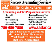 Bookkeeping , Payroll , GST , Tax Preparation  Services