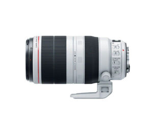 Canon EF 100-400mm f/4.5-5.6 L IS II USM Lens- Mint condition