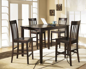 5-Pc. Counter-Height Dining Set, New