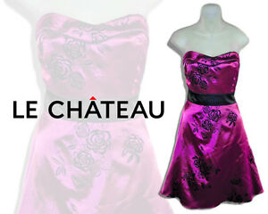 Grad / Prom - Le Chateau Strapless Dress