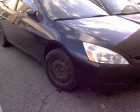 2003 Honda Accord Coupe for PARTS! K24, Black