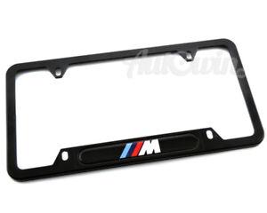 BMW M License Plate Frame Set