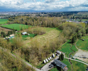 FOR SALE   9.06 ACRES   LAND ONLY   4334 186 STREET