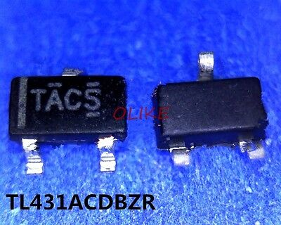1 Pcs New Tl431acdbzr Tac- Tl431 Sot23-3 Ic Chip