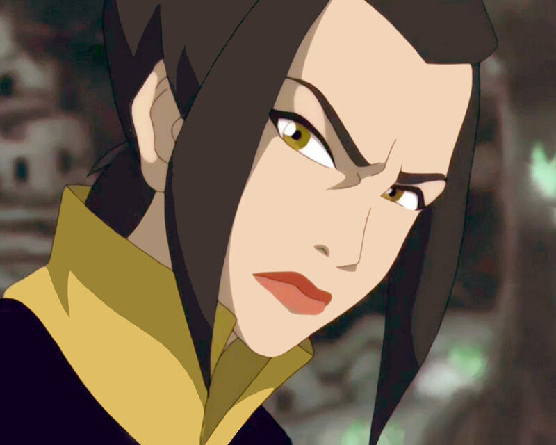 """Azula"" Closeup = 8x10 Personalized by Voice Grey Delisle -- Charity"