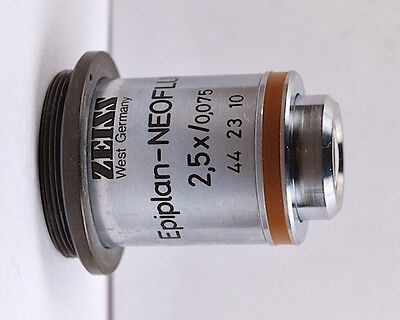 Zeiss Epiplan-neofluar 2.5x 0075 0 Microscope Objective