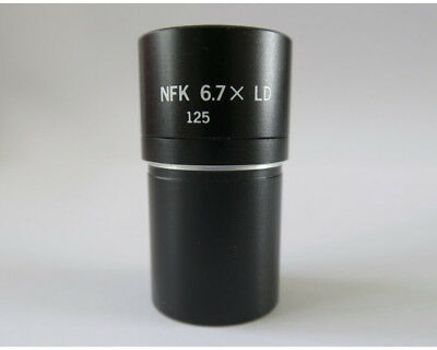 Olympus Nfk 6.7x Ld 125 Photo Relay Microscope Eyepiece - 23mm