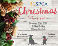 BC SPCA Christmas Craft Fair