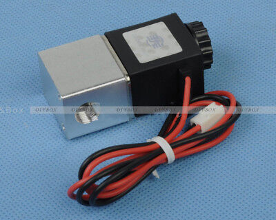 Dc 12v 18 Electric Solenoid Valve For Air Gas Water Normally Closed Nc Diy