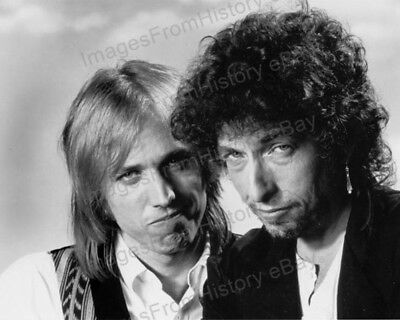 8x10 Print Bob Dylan Tom Petty 1960's #BDEB