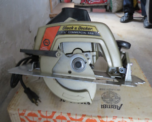 Brand New Black&Decker 7 1/4 inch Commercial Saw