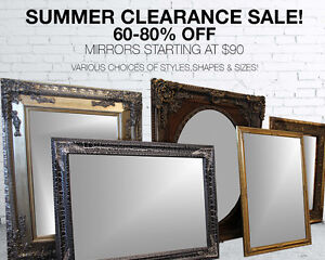Mirrors for Sale at Cameo!